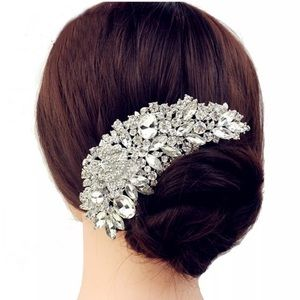 Rosalie Bridal Crystal Hair Comb